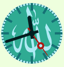 Allah Muhammad Circle Multi-Clocks Widget thumbnail