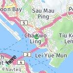Peta wilayah Laguna City, Hong Kong-Cina