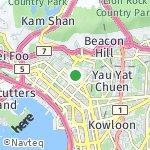 Peta wilayah Sham Shui Po, Hong Kong-Cina