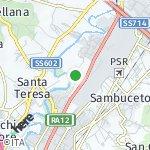 Peta wilayah Muffo, Italia