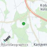 Peta wilayah Kolu küla, Estonia