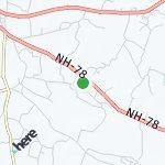 Peta wilayah Ranai, India