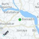 Peta wilayah Ganti, India