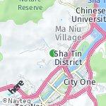 Peta wilayah Fo Tan, Hong Kong-Cina