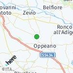 Peta wilayah Palù, Italia