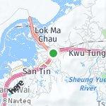 Peta wilayah San Tin, Hong Kong-Cina