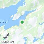 Peta wilayah Saga, Norwegia