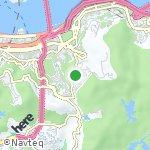 Peta wilayah Jardine's Lookout, Hong Kong-Cina