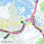 Peta wilayah Tai Wai, Hong Kong-Cina