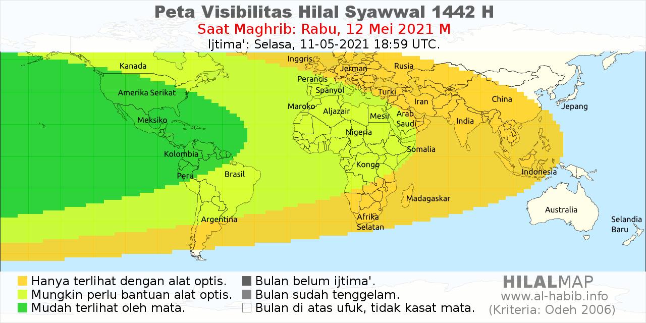 Jadwal Imsakiyah Ramadhan 1442 H - 2021 M
