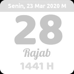Gambar Tanggal Hijriyah Hari Ini - 2021-4-17