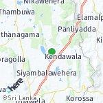 Map for location: Bandipola, Sri Lanka