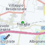 Map for location: Trecella, Italy