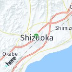 Map for location: Shizuoka, Japan