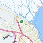 Map for location: San Fernando, Argentina
