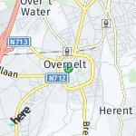 Map for location: Overpelt, Belgium