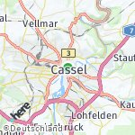 Map for location: Cassel, Germany