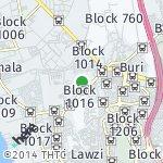 Map for location: Block 1012, Bahrain