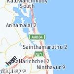 Map for location: Kalmunai, Sri Lanka