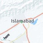 Map for location: Islamabad, Pakistan