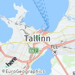 Map for location: Tallinn, Estonia
