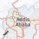 Map for location: Wereda 03, Ethiopia