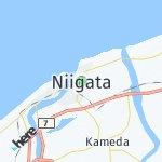 Map for location: Niigata, Japan