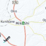 Map for location: Miki-Shi, Japan