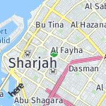 Map for location: Maysaloon, United Arab Emirates