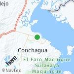 Map for location: La Unión, El Salvador