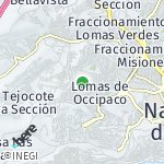 Map for location: Cumbres Himalaya, Mexico