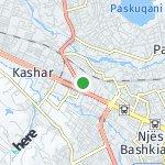 Map for location: Njësia Bashkiake 11, Albania