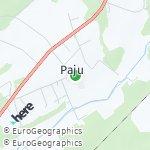 Map for location: Paju, Estonia