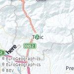 Map for location: Trzic, Slovenia