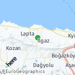 Map for location: Malatya, Turkish-Cypriot Administered Area