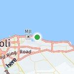 Map for location: Tripoli, Libya