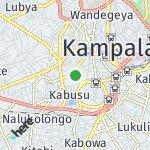 Map for location: Mengo, Uganda