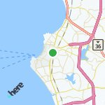 Map for location: Pattaya, Thailand