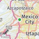 Map for location: Miguel Hidalgo, Mexico