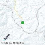 Map for location: San Diego, Guatemala