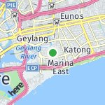 Map for location: Geylang, Singapore