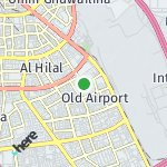 Map for location: Old Airport, Qatar
