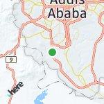 Map for location: Wereda 19, Ethiopia