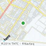 Map for location: Al Basrah, Iraq