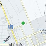 Map for location: Madinat Zayed, United Arab Emirates