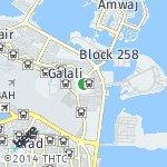 Map for location: Block 253, Bahrain