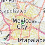 Map for location: Mexico City, Mexico