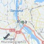 Map for location: Riga, Latvia