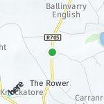 Map for location: Mangan, Ireland