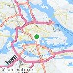 Map for location: Stockholm, Sweden